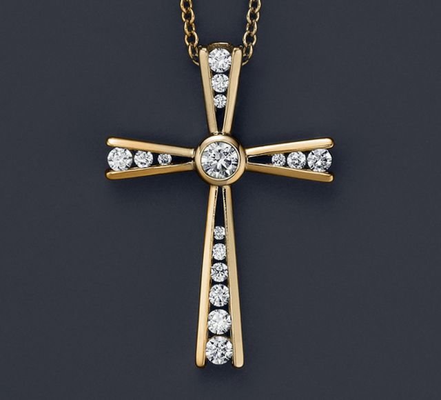 Golg diamond cross