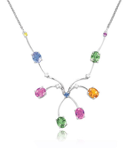 Multi-color Fancy Necklace